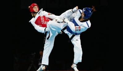 Taekwondo combat1